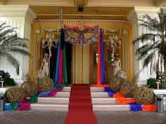 Masquerade Ball Entrance