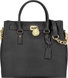 •Website: http://www.cuteandstylishbags.com/portfolio/michael-kors-black-hamilton-leather-large-ns-tote/ •Bag: Michael Kors Black Hamilton Leather Large NS Tote