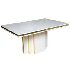 Roger Rougier Sculptural Expandable Dining Table
