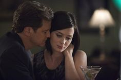 Colin Firth and Emily Blunt in 'Arthur Newman'