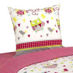 Chouette - Linge de lit bébé-Linge de lit enfant Parure de couette pour enfant (plusieurs dimensions disponibles)