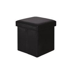 Σκαμπό - Μπάρ : ORION αποθ/κό σκαμπώ βοηθητικό PU Μαύρο Ε7044,3 Container, Bar, Canning, Home Canning, Conservation