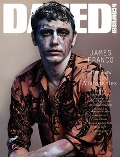james franco 800x1043 James Franco Covers the December Issue of Dazed & Confused