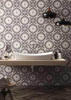 [New] The 10 Best Home Decor (with Pictures) - So much yes with this wall Tile: Saint Germain Marrone . Paris Saint, Saint Germain, Flooring Store, Spanish Tile, Style Tile, Wood Table, Wall Tiles, Backsplash, Home Art