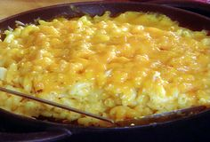 Made Paula Deen's Mac and Cheese for Easter! The sour cream made it so awesome. Of course, I left out the salt. :)