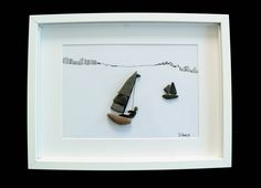 Image of pebbles - Pebble sort - yacht, 30 x 40 framed by naturalblack on Etsy https://www.etsy.com/listing/475588939/image-of-pebbles-pebble-sort-yacht-30-x