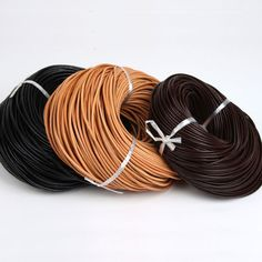 Braided Leather Rope