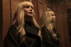 "Jennifer Lawrence becomes a living weapon in second 'Red Sparrow' movie trailer. Jennifer Lawrence undergoes intense training to become a deadly secret agent in the second trailer for Fox's upcoming spy thriller, ""Red Sparrow. Jennifer Lawrence Bangs, Jennifer Lawrence Red Sparrow, Jennifer Lawrence Movies, 10 Film, Film Red, Red Sparrow Trailer, Red Sparrow Movie, Joel Edgerton, Catching Fire"
