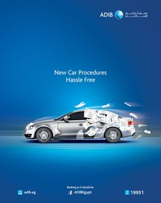 ADIB Egypt - Auto Finance - Fastest Procedures to your new car Ads Creative, Creative Advertising, Advertising Design, Creative Posters, Graphic Design Trends, Ad Design, Graphic Design Inspiration, Design Posters, Banks Advertising