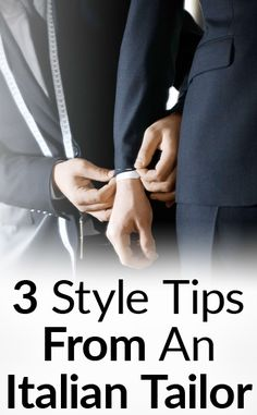3 Old School Style Tips From An Italian Tailor | Dressing Vs. Covering | The Difference Between Putting On Clothes and Adorning Yourself | Real Men Real Style | Bloglovin'