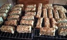 Seeded Rusks - The Cooking Engineer Rusk Recipe, Pecan Nuts, Bread Mix, White Bread, Sunflower Seeds, Almond Recipes, Melted Butter, Pumpkin