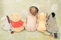 9. #Disney - 35 Absolutely #Adorable Ideas for Your Baby's #First Photo #Shoot ... → #Parenting #Bunny
