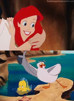 the little mermaid response Response from the vegas mermaid:  the little mermaid by hans christian andersen was the first movie i ever saw in a theater it is by far my biggest influence it.