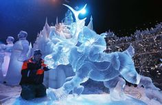 Chill with These Ice Sculpture Photos : Discovery News