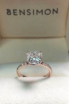 https://www.etsy.com/listing/289638691/18k-yellow-gold-eternity-diamond-and Stunning engagement ring