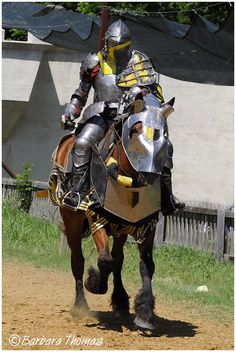 Image detail for -Knight and his War Horse - Lifestyle & Culture Photos - Kodak Moment