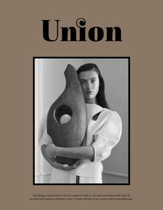 Matilda Lowther wearing Celine for Union Mag SS 16 shot by Lena Emery styled by Hiroyuki Kubo Union Magazine, Magazine Design, Inspire Me Home Decor, Space Matters, For Elise, Editorial Layout, Trends, Graphic Design Typography, Cover Design
