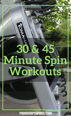 30 Minute Spin Workout for an Epic Calorie Burn | Runnin' for Sweets