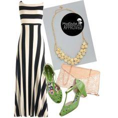 #stripes #maxi #greenshoes