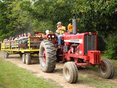Its always a great day for a hayride! http://www.discoverlakelanier.com