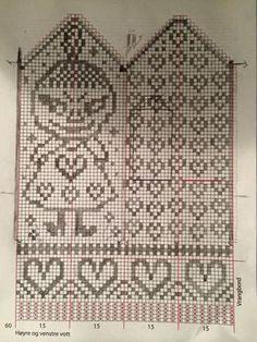 Baby Knitting Patterns Mittens v Crochet Baby Mittens, Knitted Mittens Pattern, Knit Mittens, Knitted Gloves, Knitting Socks, Knitting Charts, Free Knitting, Baby Knitting, Knitting Patterns