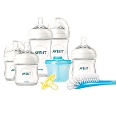 Philips AVENT Natural Glass Baby Bottle Gift Set | Philips avent ...