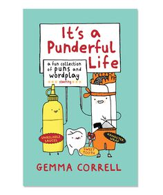 Another great find on #zulily! It's a Punderful Life Hardcover by Ryland Peters & Small #zulilyfinds