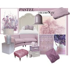 A Sweet Pastel Bedroom Pastel Bedroom, Pastel House, Apartment Therapy, Pastels, Bedroom Decor, Interior Design, Sweet, Polyvore, Home Decor