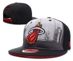 5b615877b0 Casquette NBA Miami Heat Snapback Noir Casquette New Era Pas Cher Cotton Hat