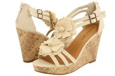 Nude summer wedge that i want in my closet!