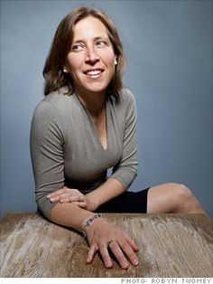 """Susan Wojcicki, senior vice president of advertising at Google, has been called """"the most important Googler you've never heard of."""""""