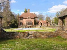 Adamsleigh, the most expensive house on the market in Greensboro, NC, a beautiful rambling Tudor