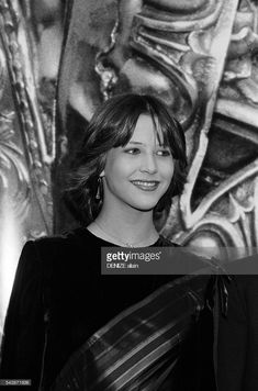 News Photo : French actress Sophie Marceau attends the 1982...