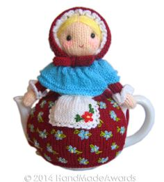 Jane Eyre Tea Cosy Pdf Email Knit PATTERN by HandMadeAwards