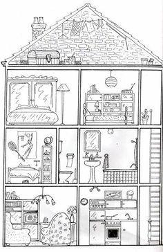 dessin de temple japonais chine en 2019 temple japonais coloriage japonais et maison japonaise. Black Bedroom Furniture Sets. Home Design Ideas