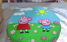 peppa pig gateau anniversaire #jaimepeppa