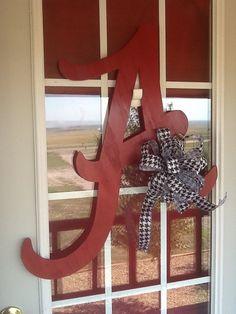 Alabama Crimson Tide Dynasty Doorhanger by DecoDezignsbySusan, $40.00