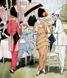 Fabulous Fashionable Edwardian/ Art Deco Ladies of Leisure.
