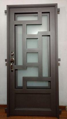 Grill Gate Design, Steel Gate Design, Front Gate Design, Window Grill Design, House Gate Design, Door Gate Design, Room Door Design, Door Design Interior, Wooden Door Design
