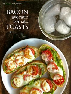 Bacon Tomato Avocado Toast is for the bacon and cheese lovers.