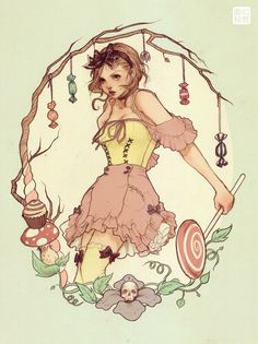 Gretel by Jasmin Darnell: from the story of Hansel and Gretel (diminutives of Johannes and Margaret) first recorded by the Brothers Grimm in 1812