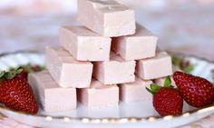 2 ingredient strawberry fudge - Kidspot