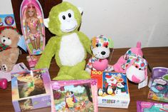 Toys donated to the Holiday Gift Shop by our generous volunteers and donors!