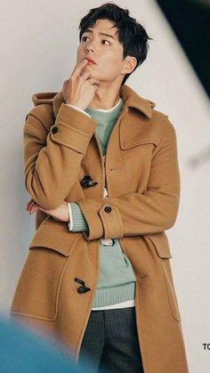 Korean Men, Korean Actors, Ji Hoo, Bo Gum, Asian Style, Fangirl, Raincoat, Menswear, Celebs