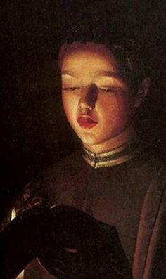 Choirboy, Georges de La Tour (detail)