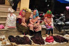 Sapa Bac Ha market - a famous highland market in the Northwest region  #BacHamarket #Sapa #Sapatours #Marketsinsapa #Vietnam