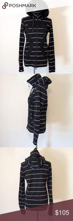 Lululemon Sailor Stripe In Stride Scuba Jacket Size: 8. Excellent condition, no signs of wear. Rare. lululemon athletica Jackets & Coats