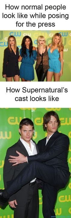 Jensen Ackles and Jared Padalecki! Yes!