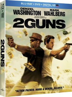 """Win free Blu-ray and DVD combo pack to """"2 Guns"""" starring Mark Wahlberg and Denzel Washington courtesy of HollywoodChicago.com! Win here: http://www.hollywoodchicago.com/links/goto/22880/8219/links_weblink"""