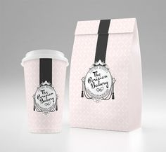Feminine branding,  retro bakery logo, vintage design packaging by Yours Truly Studio